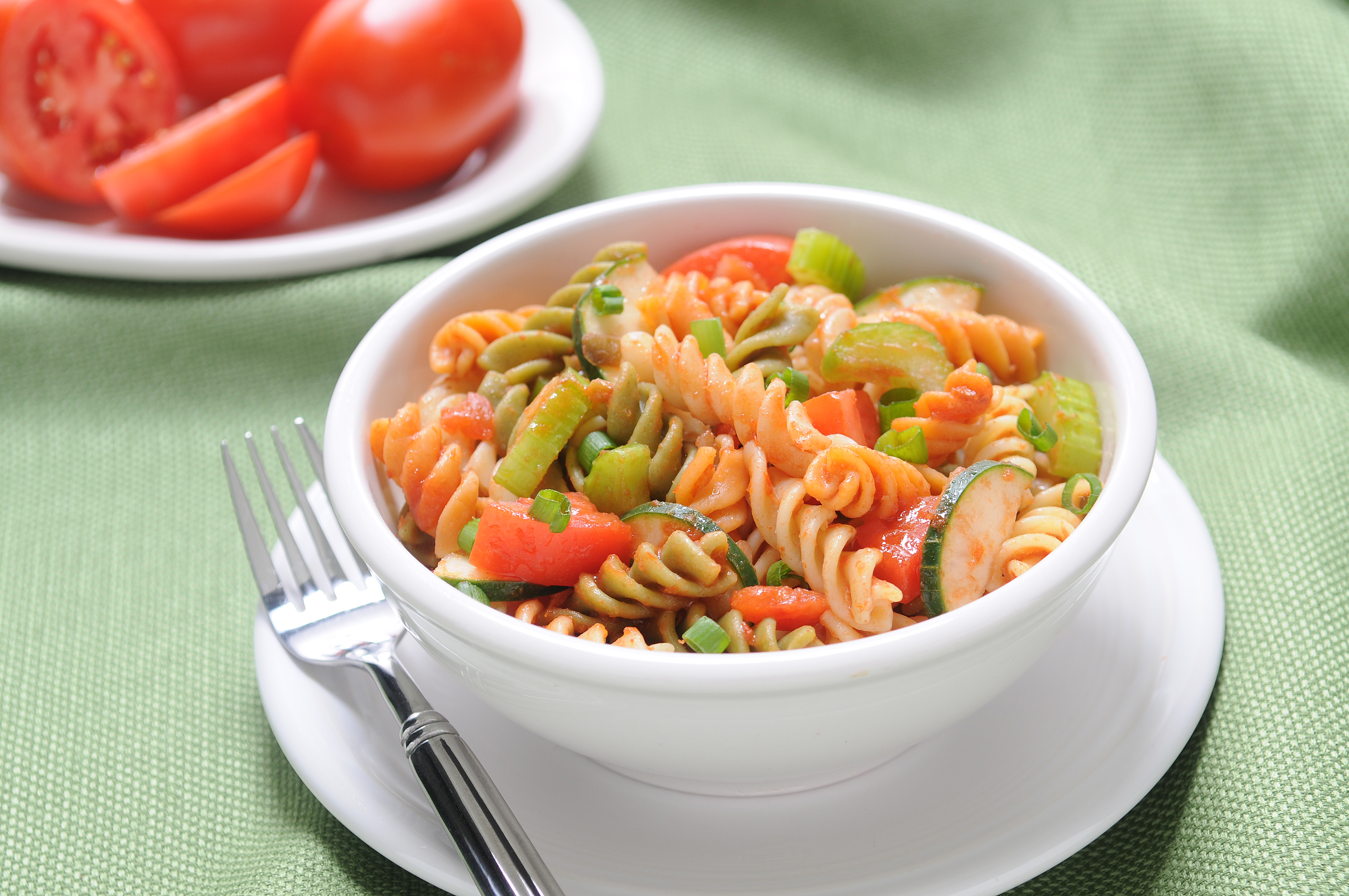 Fiesta Tri-Color Rotini Salad