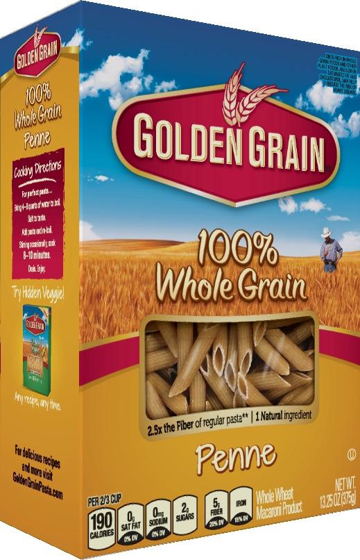 Whole-Grain-Penne-7 100% Whole Grain Penne