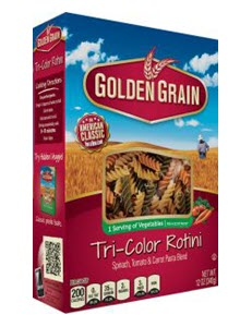 Tri-Color-Rotini 100% Semolina