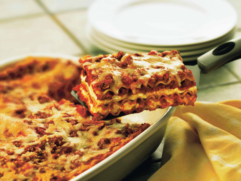 classic sausage lasagna golden grain recipes golden grain pasta